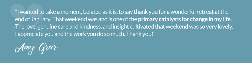 Testimonial from Amy Greer